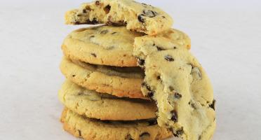 La Tarte Tropézienne - 5 Cookies au chocolat noir