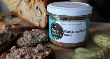 LA FERME DES BALEINES - Paté De Ragondin - 90 G - Terre Saline