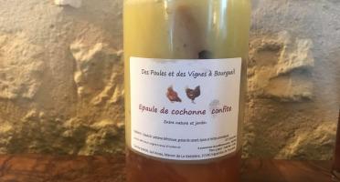 Des Poules et des Vignes à Bourgueil - Epaule De Cochonne Confite