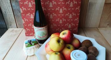 Gourmets de l'Ouest - Panier Fruits et Cidre
