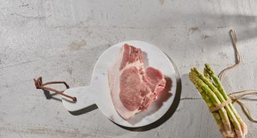 BEAUGRAIN, les viandes bien élevées - Côte de Porc Bio d'Auvergne