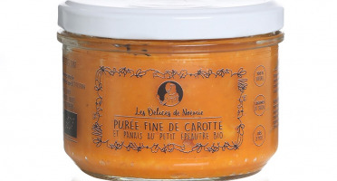 Les délices de Noémie - Petits Pots Bébé 8 Mois: Lot de 3 Purée fine de carotte et panais au petit épeautre Bio