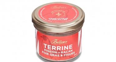 Bellorr – Maison de Qualité - Terrine de pigeon de Racan au foie gras et aux figues - 80g