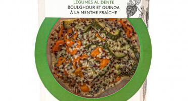 La Brouette - Pour 1 Pers. - Légumes al dente, boulghour et quinoa à la menthe fraîche - Convient aux végétariens