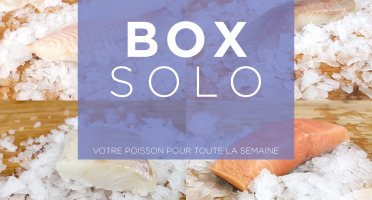 Qwehli - Box Solo Merlan - Saumon Bio - Rouget Barbet - Daurade Sébaste - Cabillaud