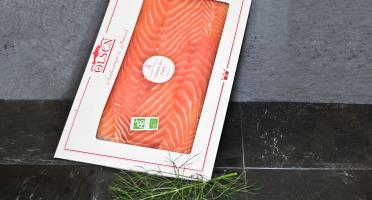 Olsen - Saumon fumé bio 300g grandes tranches main Ecosse ou Irlande