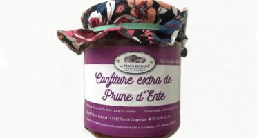 Ferme du Lacay - Confiture Extra de Prune d'Ente Bio - 220g