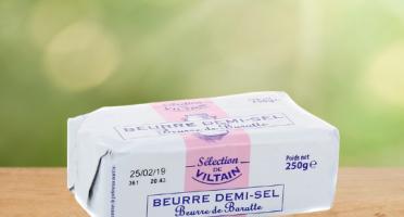 La Ferme de Viltain - Beurre Demi-sel De Baratte