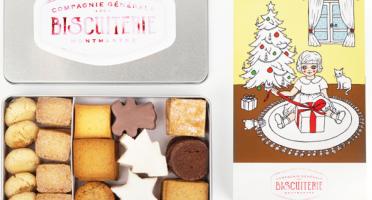 "Compagnie Générale de Biscuiterie - Boite Noel ""Sapin de Noel"""