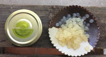 Vinaigres de la Carrière - Perles Citron -  Vinaigre de Cidre au Citron