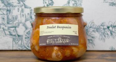 Ferme des Hautes Granges - Poulet Basquaise - 790 g