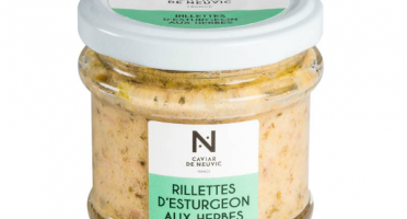 Caviar de Neuvic - Rillettes D'esturgeon Aux Herbes De Provence.