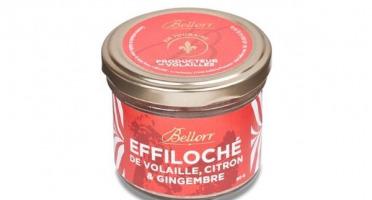 Bellorr – Maison de Qualité - Effiloché de volaille de Racan au citron & gingembre - 80 g - 80g