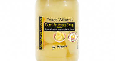 Conserves Guintrand - Demi Poires Williams De Provence Au Sirop - Yr - Bocal 720ml