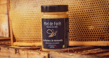 Les Ruchers de Normandie - Miel de Forêt crémeux 250g
