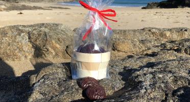 LES GOURMANDS D'OUEST - Chocolat Noir & Lait - Bourriche Huitres Ronde