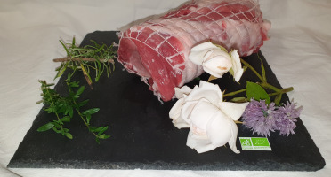 La Ferme du Montet - Rôti de Porc Noir Gascon BIO - 800 g