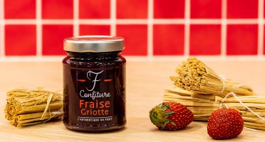 La Fraiseraie - Confiture Fraise-Griotte 120 g
