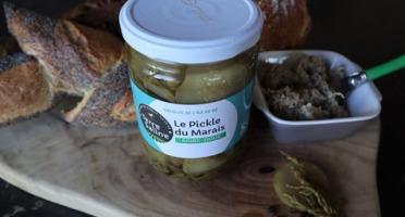 LA FERME DES BALEINES - Pickles Bio Du Marais - 310 G - Terre Saline