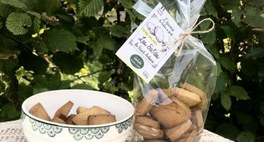 """Le Balcon en Forêt - Biscuits """"Sablés de Saint Antoine"""" à la Reine des Prés - 100 g"""