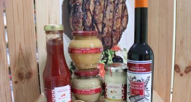 Domaine des Terres Rouges - Kit de Condiments et Huiles - Relever vos Viandes
