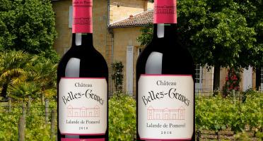 Château Belles-Graves - AOC Lalande de Pomerol 2016 - Château Belles-Graves  2x75cl