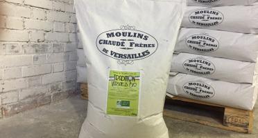 Moulins de Versailles - Farine De Blé Bio T65 - 25kg