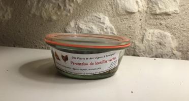 Des Poules et des Vignes à Bourgueil - Percussion De Lentilles Vertes