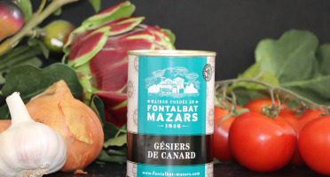 Fontalbat Mazars - Gésier de Canard - 190 gr