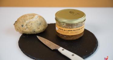 Ferme du Bois de Boulle - Pâté de lapin au foie gras