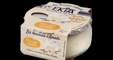 BASTIDARRA - Riz au lait vanille  - 8 pots
