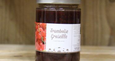La Ferme du Logis - Confiture de Framboise Groseille - Confiture Extra