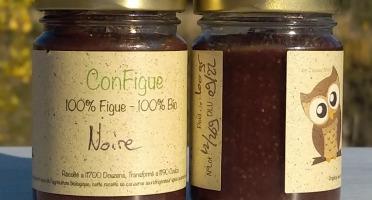 Le Ziboud'Terre - Producteur de figues - .ConFigue de Figue Noire BIO 100 g