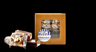 Mômes & Malice - Mini Tablettes Caramômes - Pavés Tendres (4saveurs)