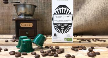 Cafés Factorerie - Café en CAPSULES du Pérou Bio - 10 capsules