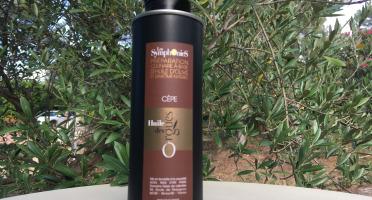 Huile des Orgues - Huile d'Olive Vierge Extra Parfumée aux Notes de Cèpes - 250 ml