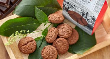La Tarte Tropézienne - Sablés chocolat et fleur de sel