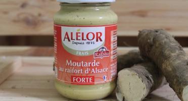Domaine des Terres Rouges - Moutarde Forte au Raifort – 205 g