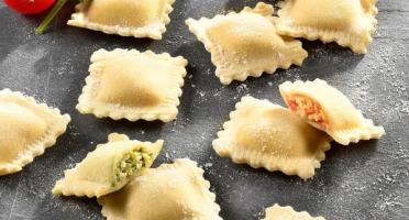 Lioravi, l'authentique pâte fraîche ! - Assortiment Raviolis Bio Ensoleillés