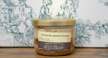 Ferme des Hautes Granges - Terrine de Canard à l'orange - 370 g