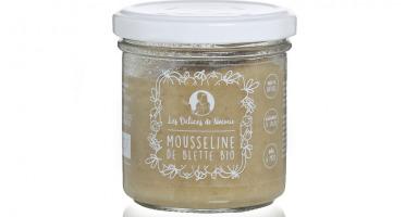 Les délices de Noémie - Petits Pots Bébé 6 Mois: Lot de 3 Mousseline De Blette Bio