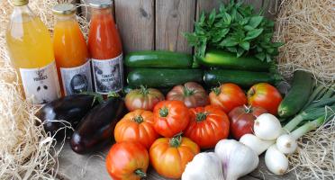 La Boite à Herbes - Panier Ratatouille & Gaspacho