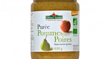Les Côteaux Nantais - Purée Pommes Poires 630g