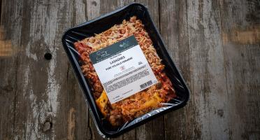 La Ferme Schmitt - Lasagnes Pure Volaille, la Barquette de 900 g