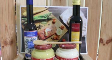 Domaine des Terres Rouges - Kit de Condiments et Huiles - Accompagner vos Poissons et Fruits de Mer