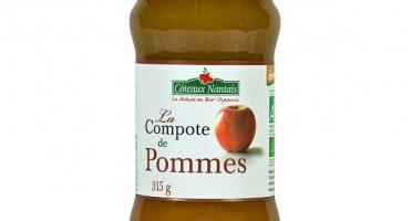 Les Côteaux Nantais - Compote Pommes 315 G Demeter