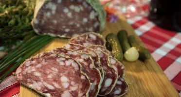 Maison Geret - Saucisson sec 100% pur porc au poivre - 240 g