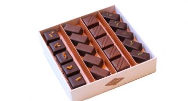 La Glacerie par David Wesmaël - Meilleur Ouvrier de France Glacier - Coffret de Chocolats Ganaches et Chocolats au Lait