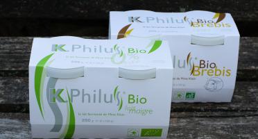 Laiterie du Climont - K-Philus - Lot : 6 Pots K-Philus lait de Vache et 6 Pots K-Philus lait de Brebis