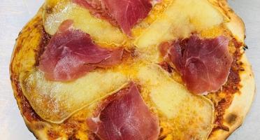 Les Saveurs d'Amatxi - Pizza Jambon de Bayonne - 30 cm - précuite